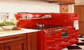 Kitchen With Red Appliances Red Kitchen Appliances Helpformycreditcom