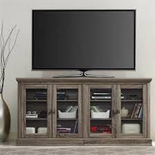 altra bennett 70 inch sonoma oak modern farmhouse tv stand with for best and newest glass