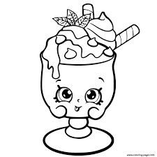 Cute Coloring Pages For Girls 7 To 8 Shopkins Games For Kids Cute