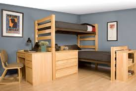 college dorm room ideas with bunk beds for