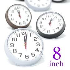 8 inch wall clock made in instrument company 1 4 a 8 wall clock 8 inch