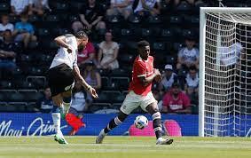 Derby vs Man Utd LIVE RESULT: Chong and Pellistri goals give United  two-goal lead before Kazim-Richards strike