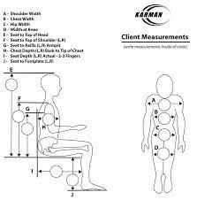 Standard Wheelchair Size Chart Wheelchair Manual Wheelchairs Karman Healthcare Com