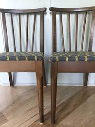 pair of holabird mid century dining chairs by durpettiinteriors on etsy s