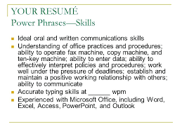 communication skills for a resume example resume for job  communication skills resume words sample how to essay for