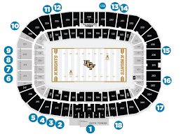 Ucf Acceptance Chart Stadium Information Ucf Athletics