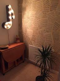 Wallpaper with old sheet music? Uh.. YES!