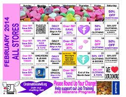 Sales Calendars Test Page Goodwill Cincinnati