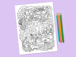 Check out our free printable coloring pages organized by category. Stay Home Color A Collection Of Free Coloring Pages To Help You Relax Dribbble Design Blog