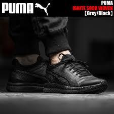puma ignite black. puma ignite sock woven grey/black puma ignite black