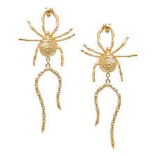 <b>Natia x Lako Позолоченные</b> серьги-пауки с хвостом | www.gt-a.ru
