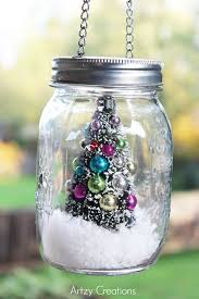 Ideas For Decorating Mason Jars For Christmas 100 Minute Mason Jar Christmas Decor artzycreations 78