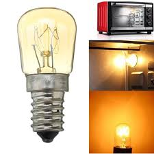 Appliance Light Bulb Microwave Ac220 240v High Temperature 300 E14 25w Microwave Oven Cooker Incandescent Light Bulb