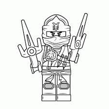Kleurplaat Ninja