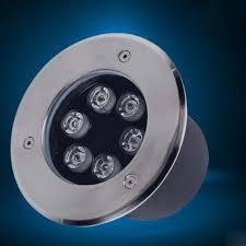 recessed floor lighting. Led Underground Lamps 6W Warm White Ground Light Waterproof Buried Floor Gardern Recessed Lights RGB Lighting