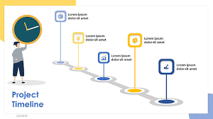 Free Project Timeline Template Free Project Timeline Slide Powerpoint Template Designhooks