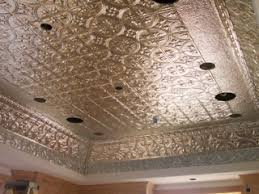 This tin ceiling is made up of a 12