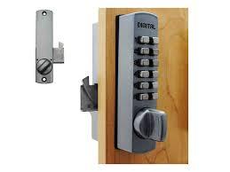 lockey c150 surface mount cabinet hookbolt keypad lock