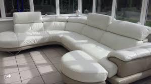 dfs white leather corner sofa home garden