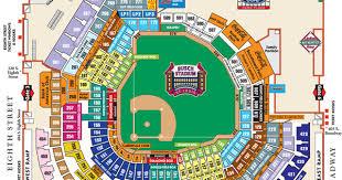 Detailed Seating Chart Busch Stadium Boudd Busch Stadium Seating Chart