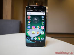 moto play. one widely-discussed issue with moto phones, in general, is their tardiness receiving android updates. the z play launches 6.0.1