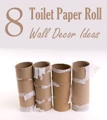 Toilet Paper Roll Art 8 Homemade Toilet Paper Roll Art Ideas