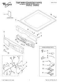 whirlpool wp8530589 user interface platinum appliancepartspros com part diagram