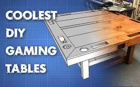 Homemade Wooden Board Games Coolest DIY Gaming Tables Webb Pickersgill 51