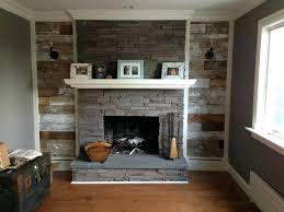 reclaimed wood fireplace mantel decor hearth