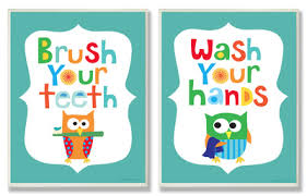 boys bathroom wall decor duo art print artwork u201c kids34 wall