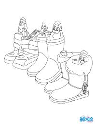 Small Picture German boots filled with gifts coloring pages Hellokidscom