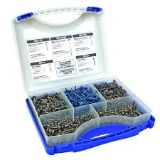 Kreg 1 In To 2 1 2 In Square Drive Round Head Pocket Hole Screw Kit 675 Pack