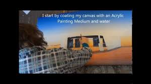 creating soft and hard edges in acrylic paintings step by step demo with linda macaulay acryclic painting soft