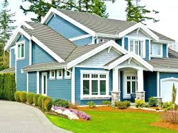 Exterior Home Paint Schemes Cool Design Ideas