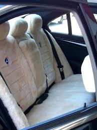 sheepskin car seat covers all over sheepskin rear or row custom made sheepskin car seat covers