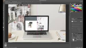 how to create a scrolling website animation in photo