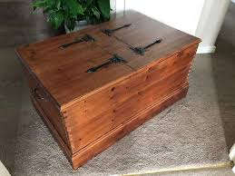 coffee table marvelous leather trunk coffee table square trunk within large wooden trunk ideas