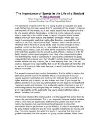 student life essay student life
