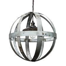 wine barrel lighting globe chandelier globe chandelier
