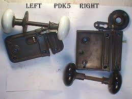 Robinsons Antique Hardware porcelain door knobs