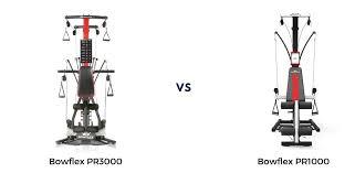 Bowflex Pr1000 Vs Pr3000 Home Gym Review And Comparison