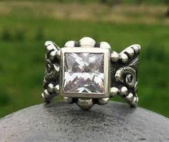 rockin out jewelry texas angel sterling silver western style enement elegant cly western ring gift for her valentines