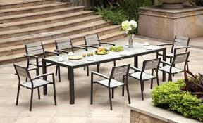 unique outdoor furniture ideas. Long Outdoor Dining Table \u2013 Popular Wooden Garden Furniture Unique Lush Poly Patio Ideas M