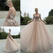 charming champagne wedding dresses color 2016 sweetheart tulle
