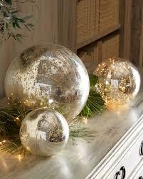 Mercury Glass Decorative Balls Mercury glass balls are the perfect accessoryreally balls of 2