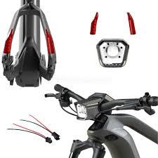 Haibike Light System Haibike Flyon Full Lighting Kit Fitted