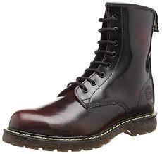 Grinders Cedric Mens Combat Boots