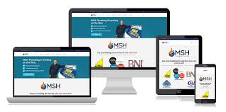 website design ivybridge website an seo package msh plumbing case study