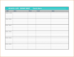 Free 005 Appointment Schedule Sign Up Template For Volunteer