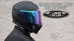 Simpson Ghost Bandit Helmet Review Getlowered Com